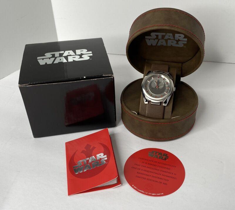 Ltd Edition Star Wars Fossil Watch Convention Exclusive Rebel Alliance Starbird