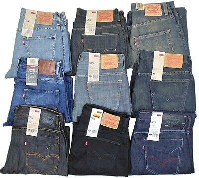 Levis 569 Mens Jeans~~~Loose Fit Straight Leg~~~Stonewash, Blue, -