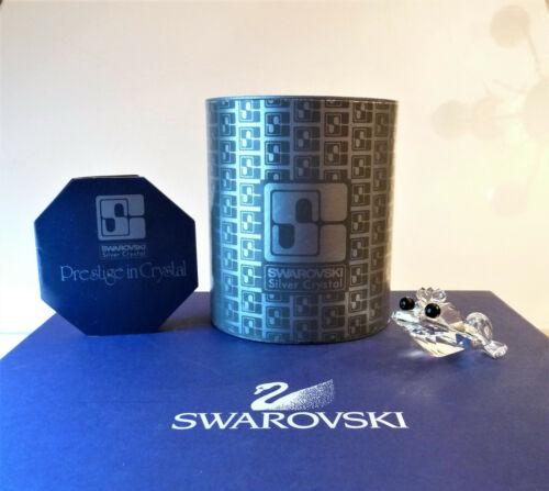 SWAROVSKI Frog Prince V2 With Black Eyes 010010 ~ w/Box & COA
