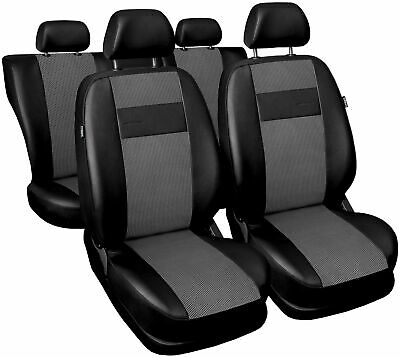 Sitzbezüge schwarz hinten HER OPEL ASTRA CLASSIC F