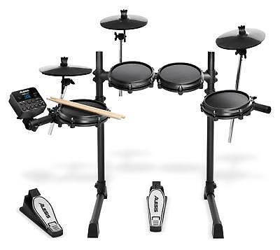 Alesis Turbo Mesh E-Drum Kit Schlagzeug Snare Mesh Pad Tom Ride HiHat...
