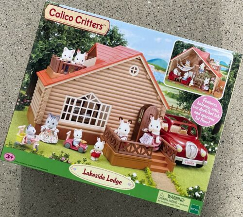 Calico Critters Epoch Lakeside Lodge Play Set CC1456 NEW!