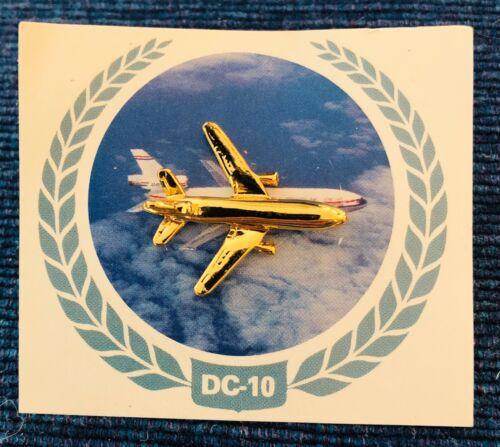 McDonnell Douglas DC-10 Lapel Pin