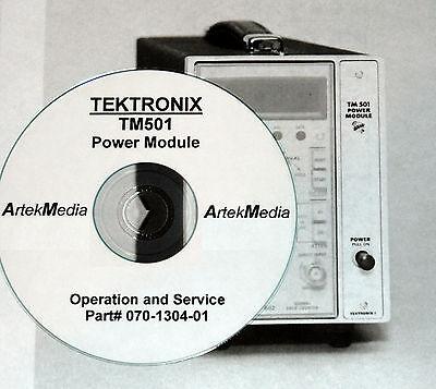 Tek Tm501 Power Module Instruction Manual Opsservice