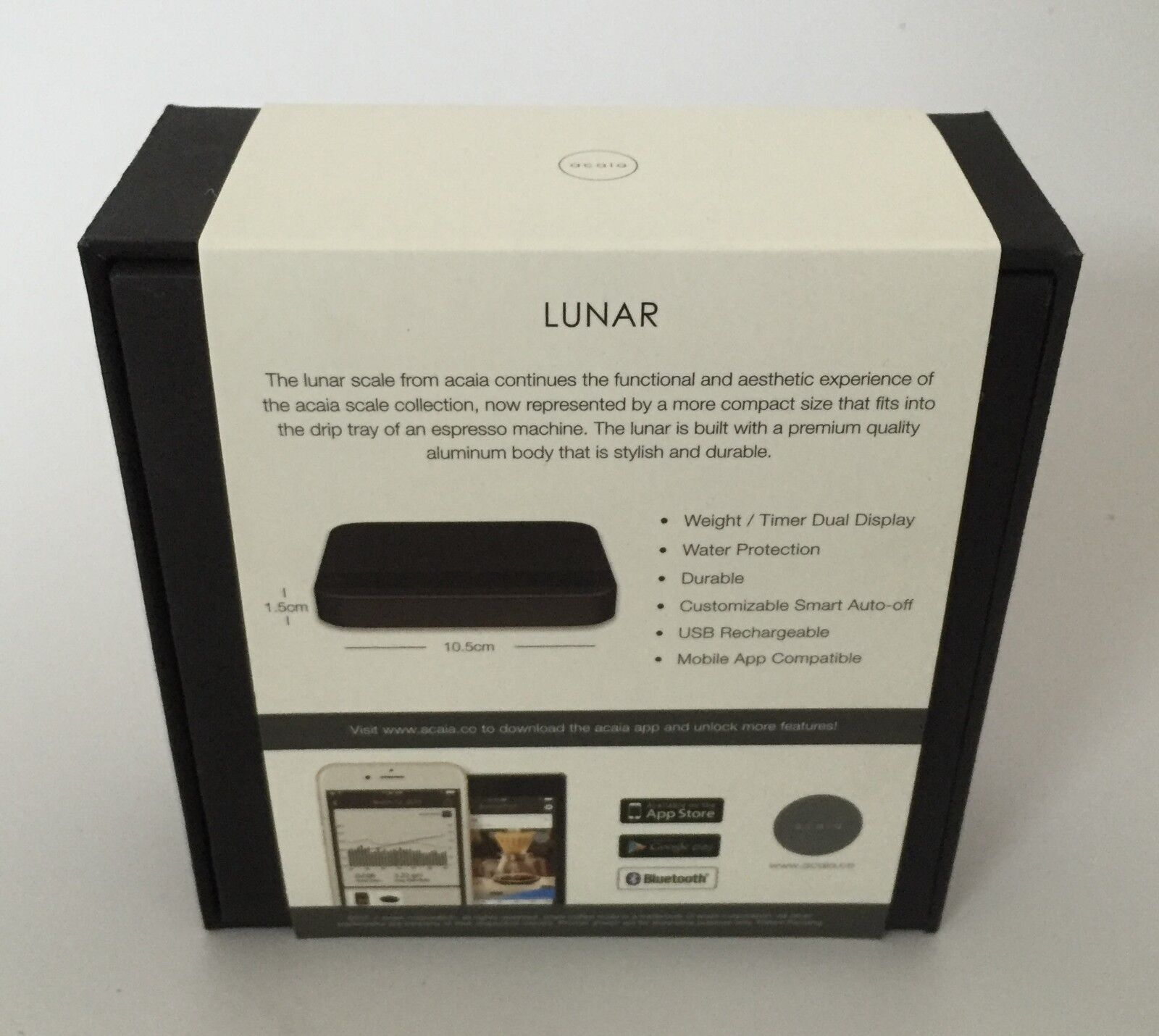 Super Bargain New Acaia Lunar Coffee Scale Gateway Bonus 2 Of 5 Amanti 3