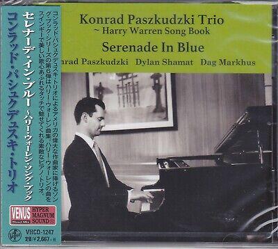 Konrad Paszkudzki Trio Serenade In Blue Harry Warren Japan Venus Records Jazz CD