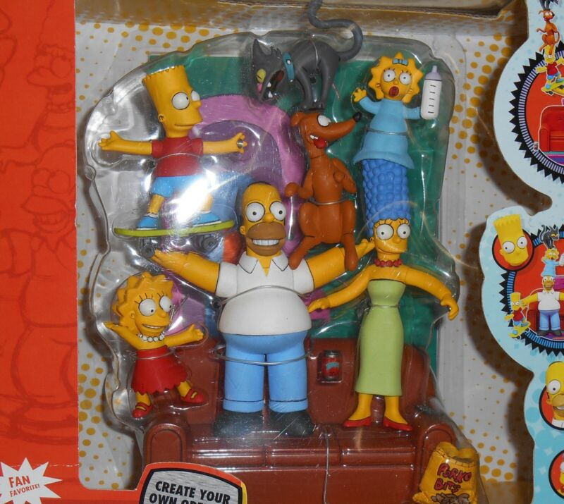 The Simpsons Couch Gag Deluxe Boxed Set – NIB - RARE!!