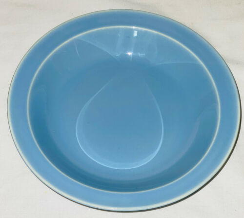 "Taylor Smith Taylor*TS&T* LURAY PASTELS BLUE *7 3/4"" SOUP BOWL *SIGNED*"