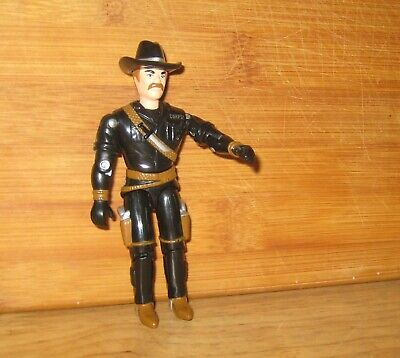 "1997 Lanard CORPS Cowboy 4"" Action Figure"