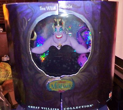 Disney's The Little Mermaid Sea Witch Ursula from the Great Villains Collection