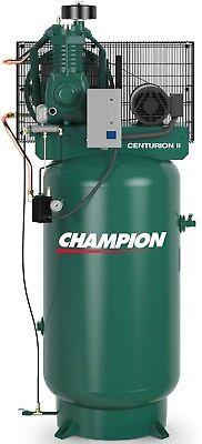 Champion Compressor Vrv5-8 Fully Packaged 5 Hp Single Phase 2475n5f9 251cs80ycbm