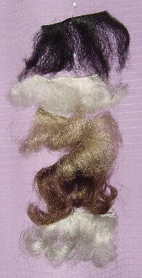 Kunsthaartressen Stücke zum Basteln für Perücken, Bärte, - Tressen Perücken