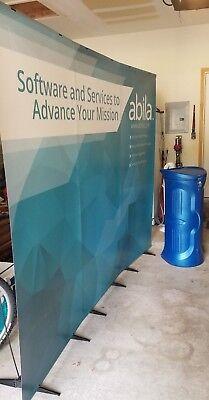 Penguin Connection Display Stands - Unique Carbon Fiber Used - Banner Back (Back Banner Stand)