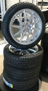 Winter Tires/Rims Pirelli Mercedes-Benz C300/CLA/B250 RunFlat 17