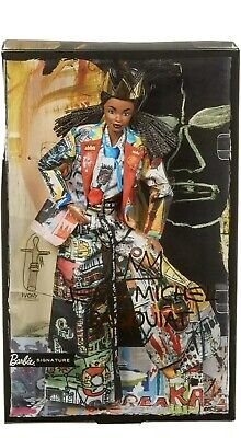 Barbie Jean Michel Basquiat X Signature Gold Label Collector Doll 2020 In Hand