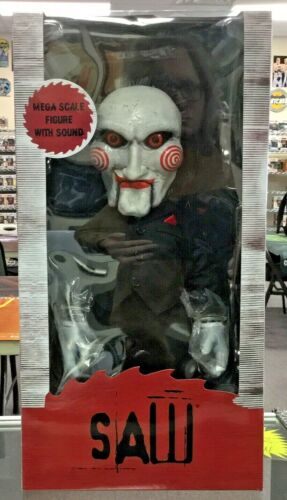 """Mezco Saw Billy the Puppet 15"""" With Sound Collector Doll Figure 2019"""