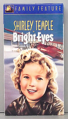Bright Eyes (VHS) Shirley Temple - Classic Movie