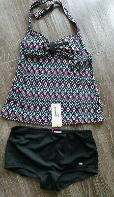 Kangaroos Tankini Bikini 2-teiler Badeanzug Gr. 38 NEU