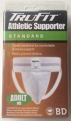 Athletic Supporter Jock Strap MEDIUM Elastic Sports Gear Men