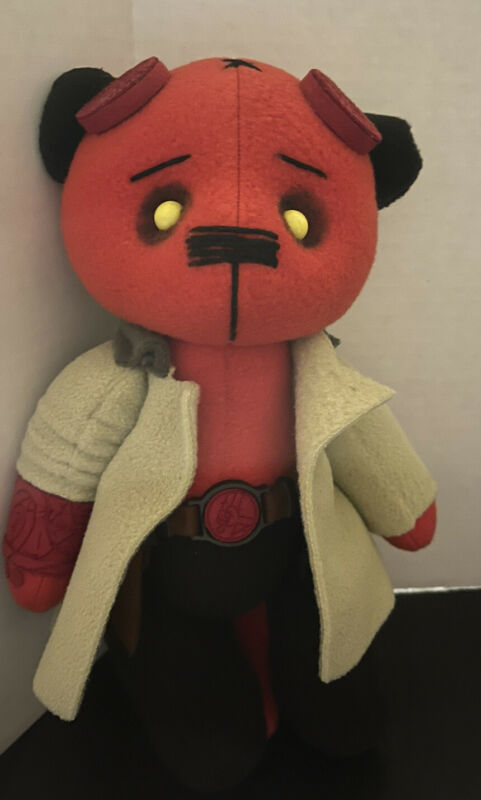 """Hellboy 10"""" Teddy Bear Plush"""