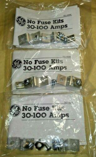 3 kits GE CR308X110A General Electric  600V CLIP KITS ( NO FUSE ) 3 kit lot