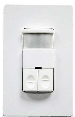 Enerlites Occupancy Motion Sensor Switch Dual Load Non-neutral For Light Fan