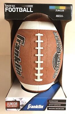 New Franklin Junior Grip Rite Pvc Football Sports Gift