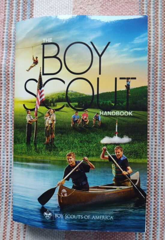 Boy Scouts of America Boy Scout Handbook Manual 2016 Youth Protection Guide New