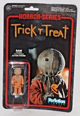 MISP FUNKO REACTION action figure TRICK 'R TREAT Cult Horror Halloween Movie SAM