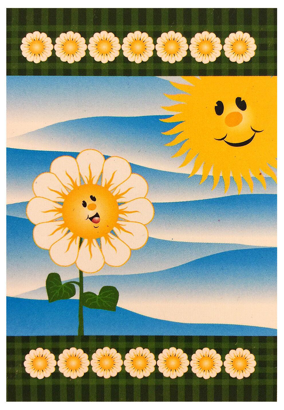 sun and sunflower house flag 28 x40