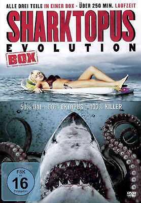 | 3 Filme | 250 min | Komödie | Horror [FSK16] DVD (Sharktopus Film)
