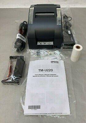 Epson Tm-u220b Usb Receipt Printer C31c514a8051 7130-0024-8801 M188b