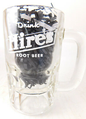HIRES ROOT BEER GLASS DRIVE IN  MUG  VINTAGE 1960'S
