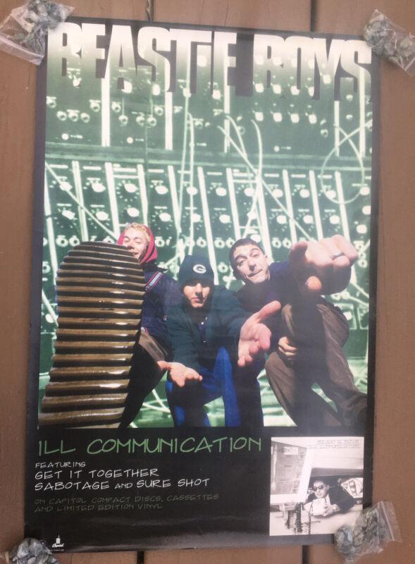 (2) Beastie Boys Ill Communication Album LP Promo Posters 1994