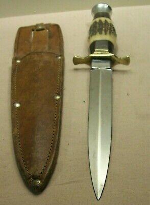 1940's~J. NOWILL & SONS~POST WWII FAIRBAIRN SYKES COMMANDO DAGGER FIGHTING KNIFE