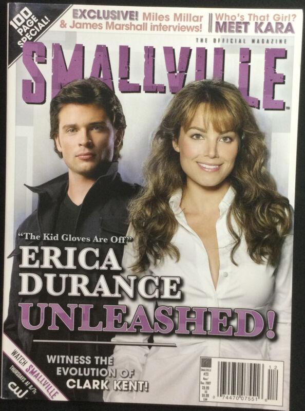 Smallville Magazine #23 Nov/Dec 2007 Cast Interviews 100 Page Special Clark Kent