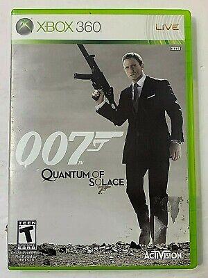 James Bond 007  Quantum of Solace  Microsoft Xbox 360  2008