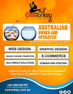 OZ Monkey Web Solutions - UP TO 50% OFF
