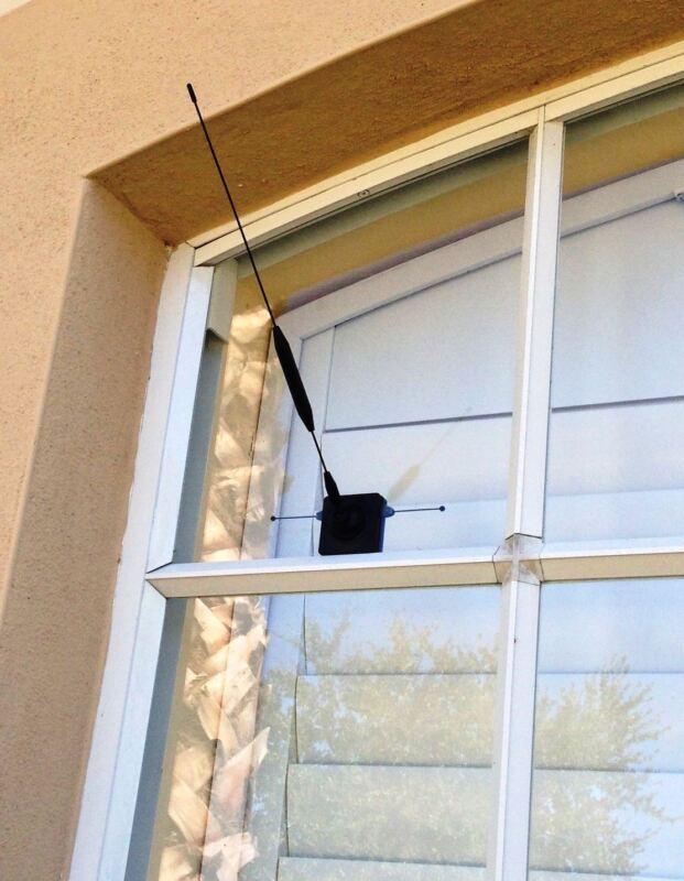 New! Antenna Car / Home Cell Signal Strength Booster 4G Smart Phone Glass Mount