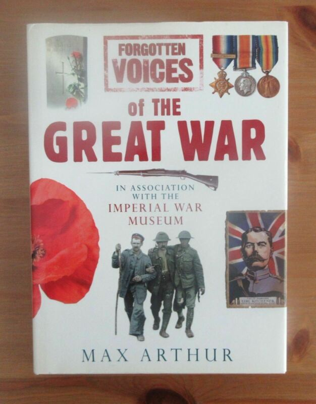 WW1 ORAL HISTORY BOOK IMPERIAL WAR MUSEUM nice illustrations arthur