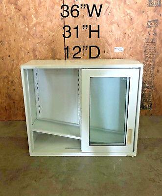 Lab Casework Overhead Cabinet Whitetan 36x31x12 Deep
