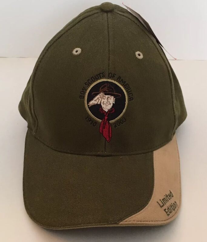 Boy Scouts Of America 1910-2003 Green Limited Edition Hat