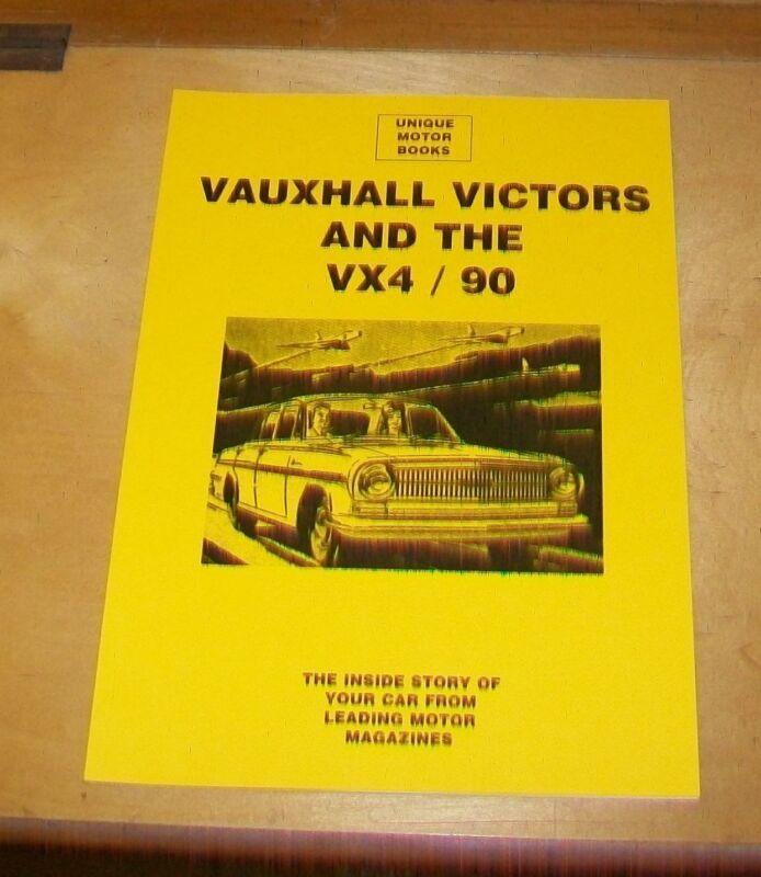 VAUXHALL+VICTORS+AND+THE+VX+4%2F90+ROAD+TEST+%2B+SERVICE+DATA+REPRINT+BOOK.+UMB