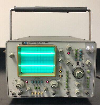 Hp 1740a 100 Mhz Oscilliscope