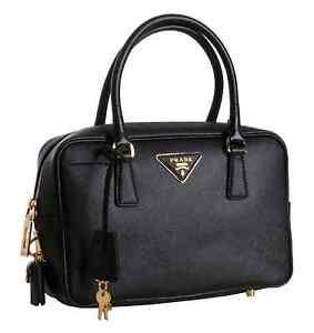 Authentic PRADA SAFFIANO lux bauletto bag Minto Campbelltown Area Preview