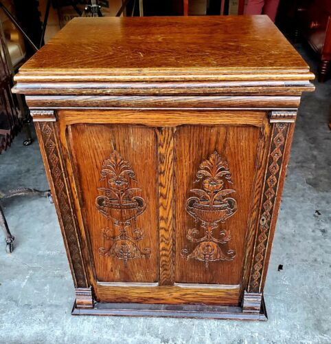 Antique Winchester Sewing Machine, Beautiful Ornate Parlor Cabinet Treadle