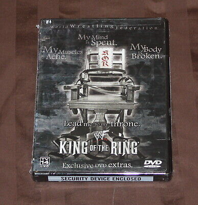 WWF - King of the Ring 2001 (DVD, 2001) WWE BRAND NEW *RARE*