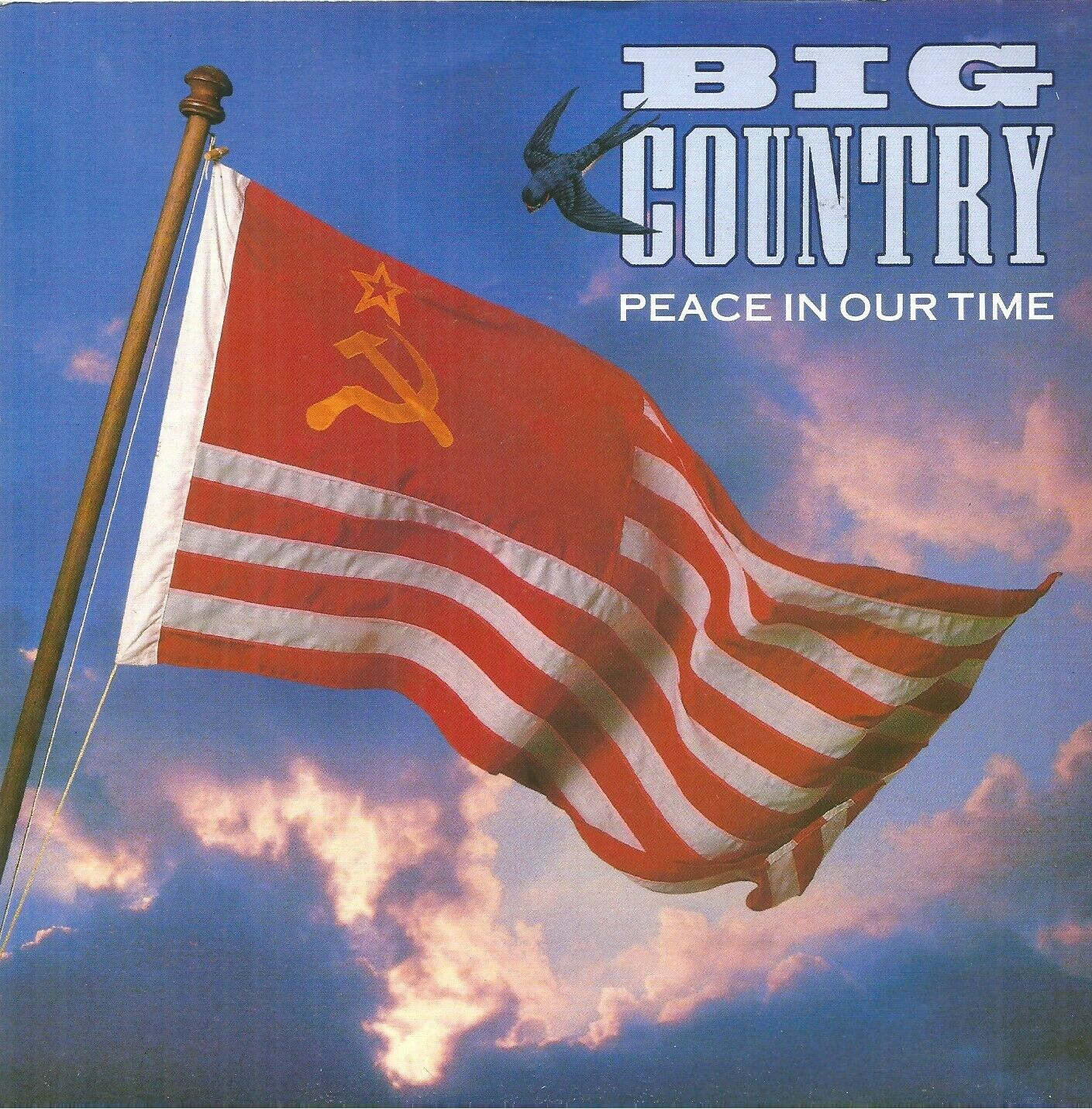 """Big Country – Peace In Our Time – 7"""" Vinyl 45rpm Ex Con"""
