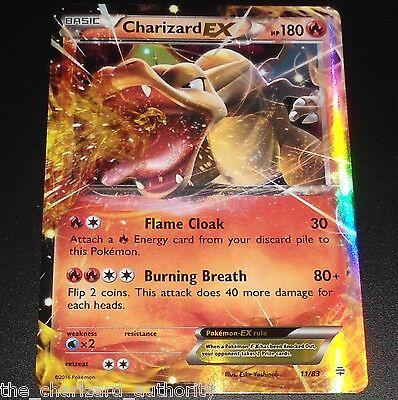 Charizard EX 11/83 XY Generations Ultra Rare Holo NEAR MINT Pokemon Card