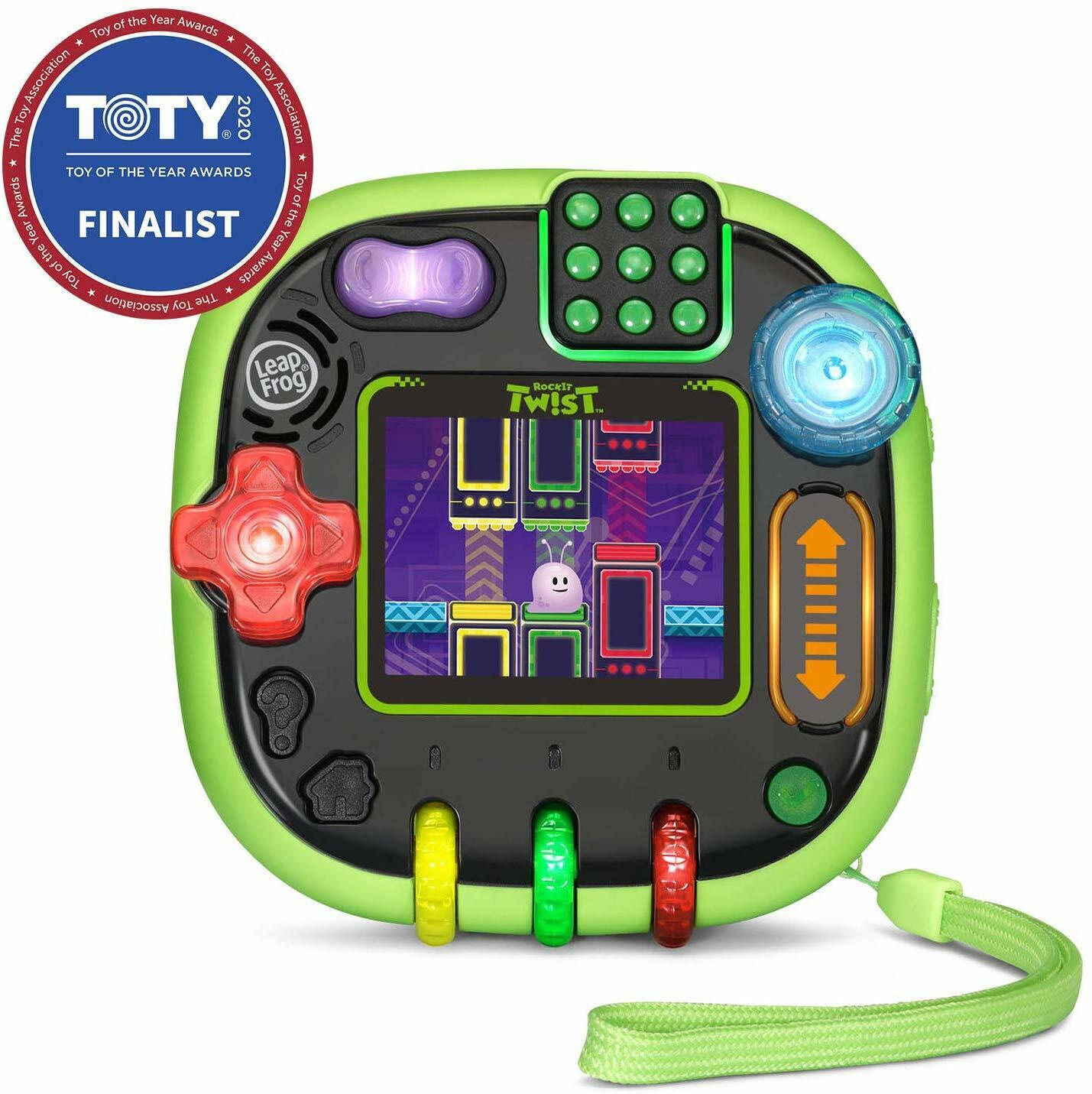 LeapFrog RockIt Twist Learning Game System Handheld Puzzles